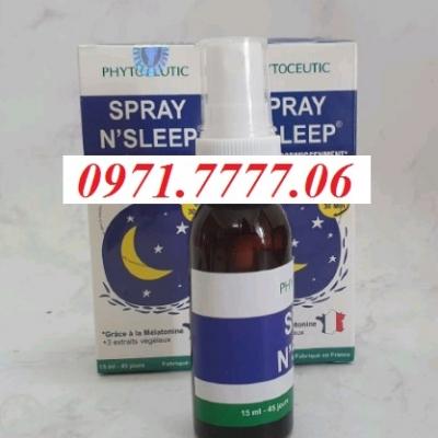 Thuốc Ngủ Spray N'Sleep Chính Hãng Giá Tốt Giúp Ngủ Ngon