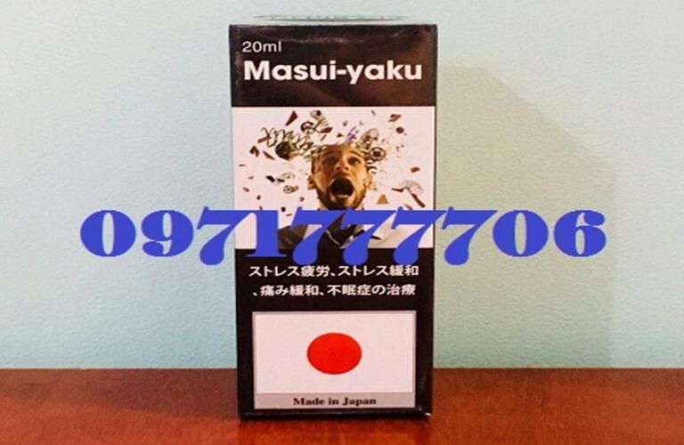 Thuốc ngủ Masui yaku