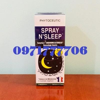 Thuốc gây ngủ N'Sleep Melatonin dạng xịt an toàn – 0971777706
