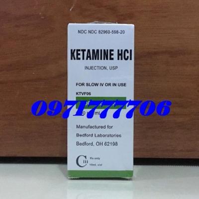 Thuốc Mê Ketamin HCl Dạng Bột Cao Cấp Dùng Là Ngủ Mê Ngay