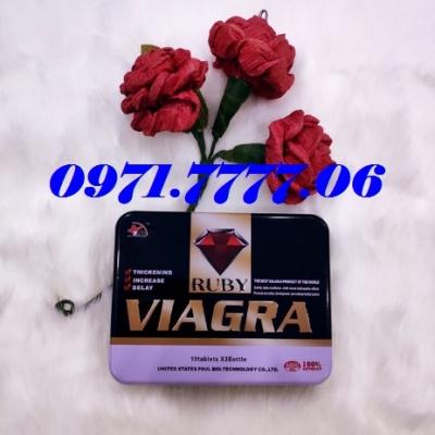 Viagra Ruby Thuốc Cường Dương Cao Cấp Cực Tốt Nhập Từ Mỹ