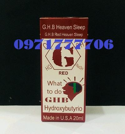 Thuốc mê GHB Red dạng nước