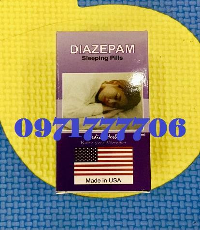 thuốc mê Diazepam
