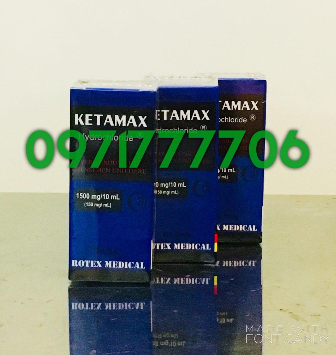 Thuốc mê KETAMAX