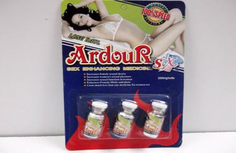 Thuốc kích dục nữ Ardour được nhập khẩu từ Thái Lan cho tác dụng kích dục mạnh
