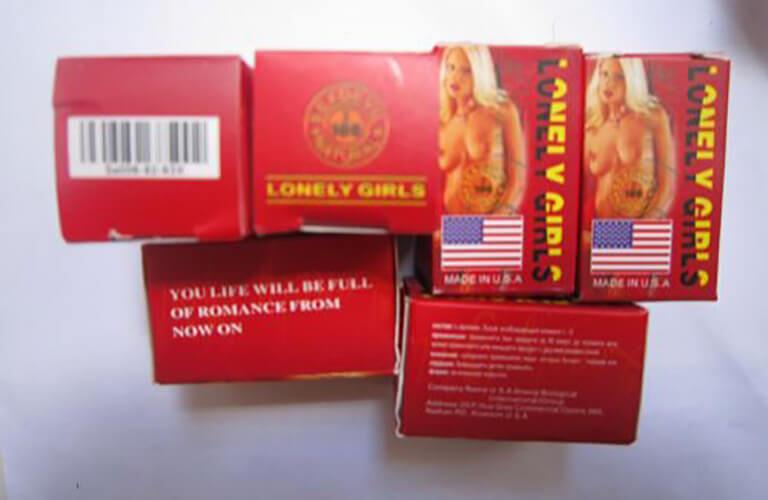 Thuốc kích dục nữ Lonely Girls cho tác dụng mạnh, hỗ trợ cho vợ chồng trong đời sống chăn gối